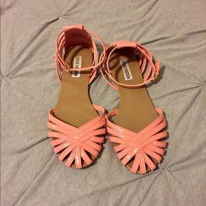 Steve Madden pink sandals
